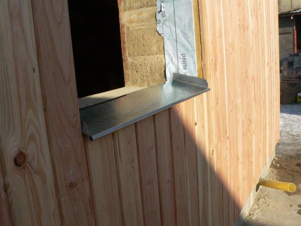 Patrimoine fa ades les appuis des baies for Appui de fenetre bois